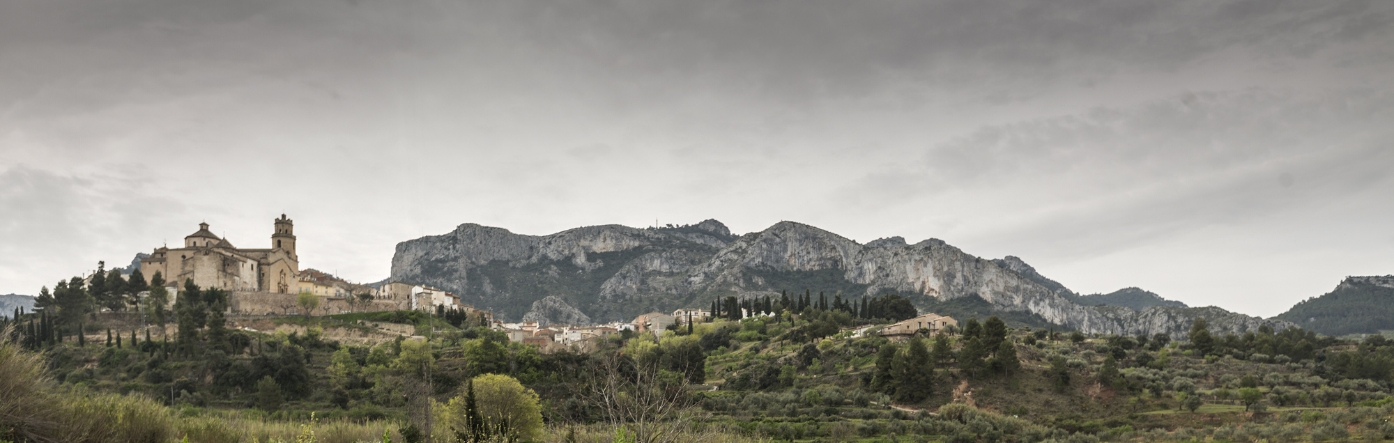 Vistes poble de Tivissa