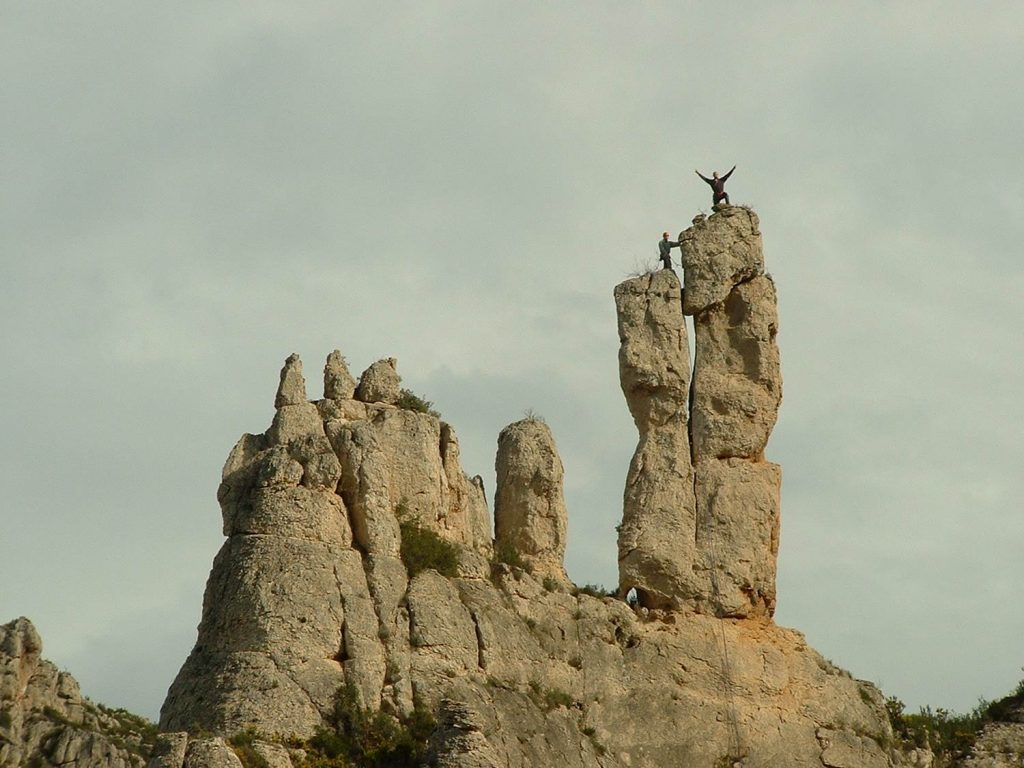 Escalada muntanyes de Tivissa