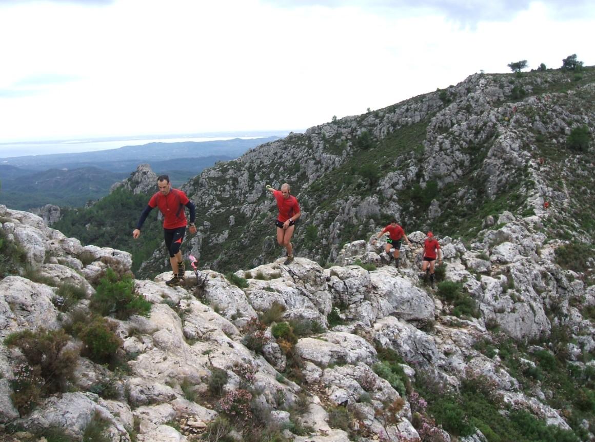 Cursa per muntanya Tivissa