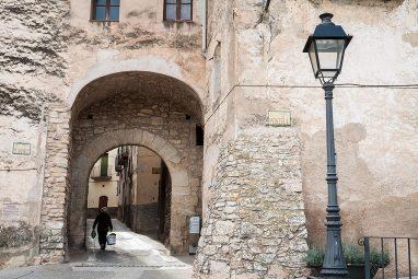Casco antiguo de Tivissa, vila medieval.