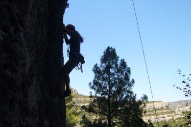 Escalada esportiva Tivissa